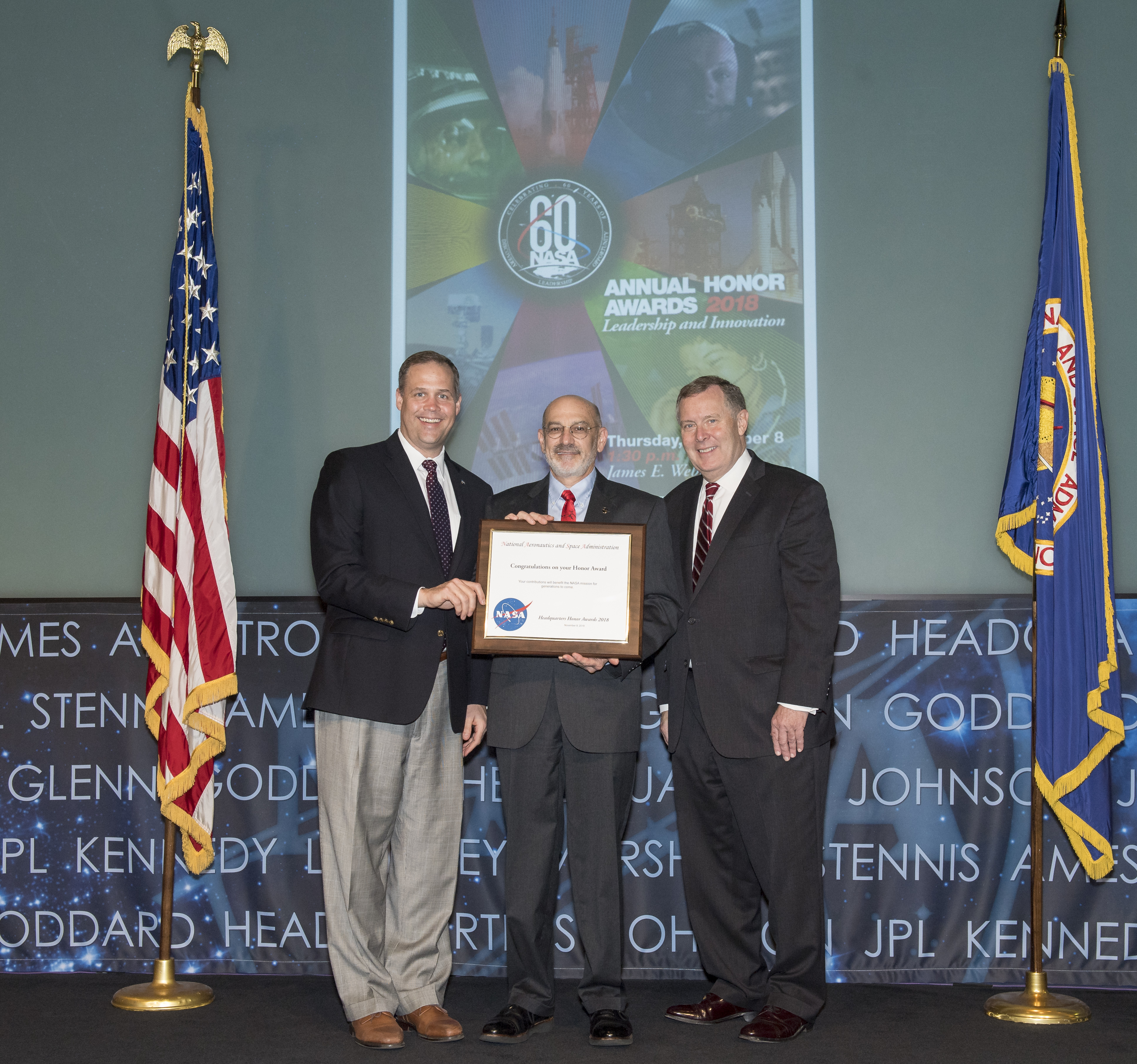AAS Press Officer Receives NASA Exceptional Public Achievement Medal