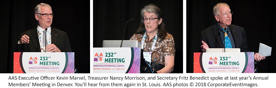 AAS Annual Members' Meeting