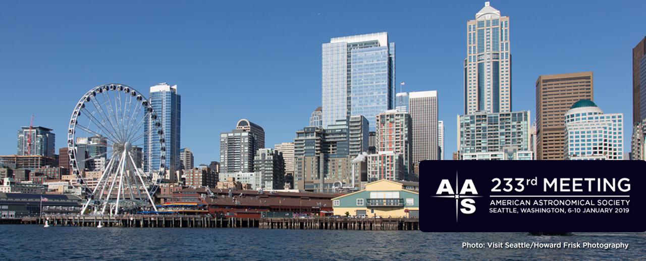 AAS 233 Logo