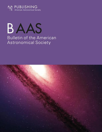 New BAAS cover