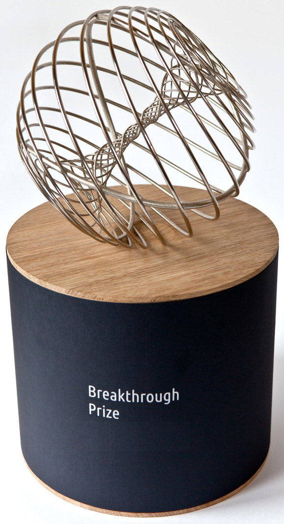 Breakthrough Prize Trophy