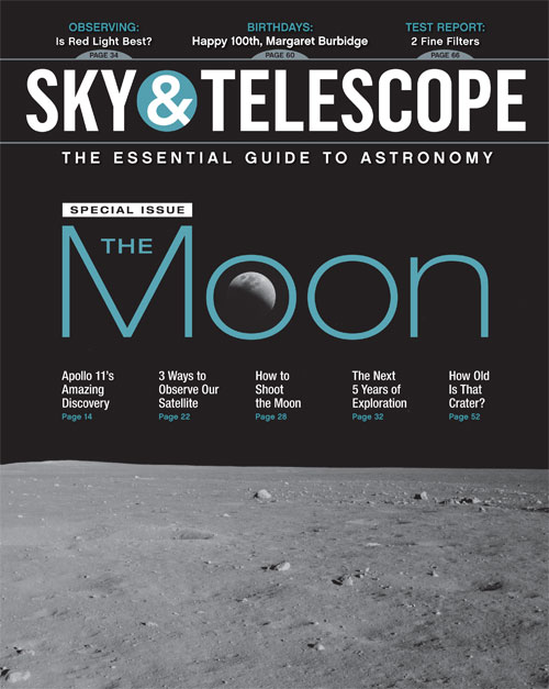 Sky & Telescope July 2019 Cover