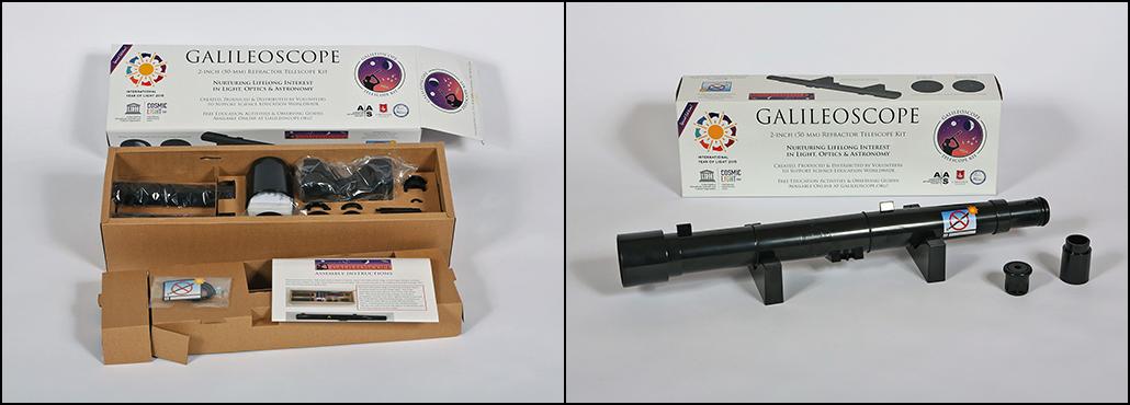 Galileoscope Refractor Kit