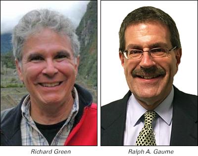 Richard Green and Ralph Gaume