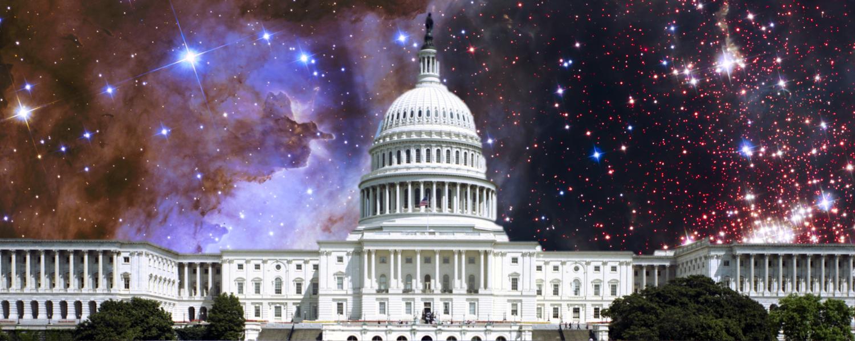 U.S. Capitol with a Westerlund 2 sky