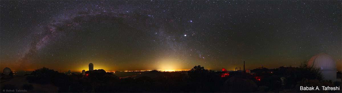 Kitt Peak at Night