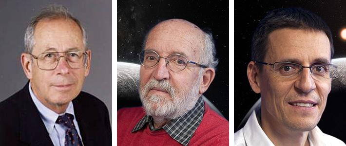 Jim Peebles, Michel Mayor, Didier Queloz
