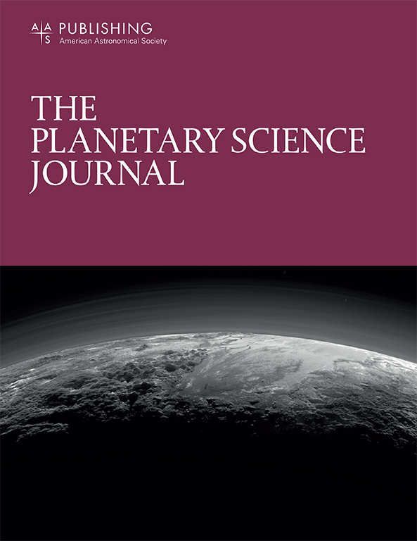 Planetary Science Journal Cover
