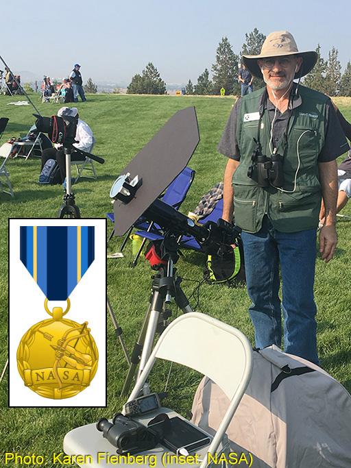 Rick Fienberg in Oregon on 21 August 2017