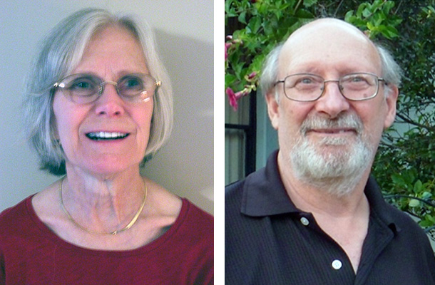 Stella Cottam and Wayne Orchiston