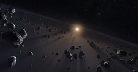 Kuiper Belt Illustration