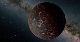 Exoplanet LHS 3844b