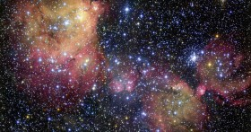 Emission Nebula N55 in the LMC