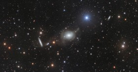 Elliptical Galaxy NGC 5018