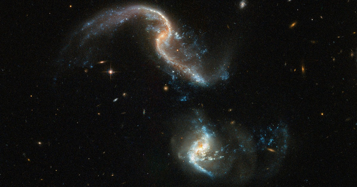 Galaxy Merger Arp 256