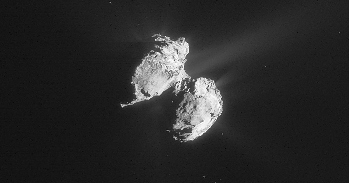 Comet 67P from Rosetta