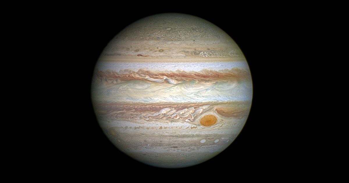 Jupiter from the Hubble Space Telescope
