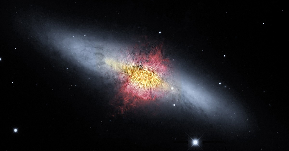 M82's Magnetic Wind