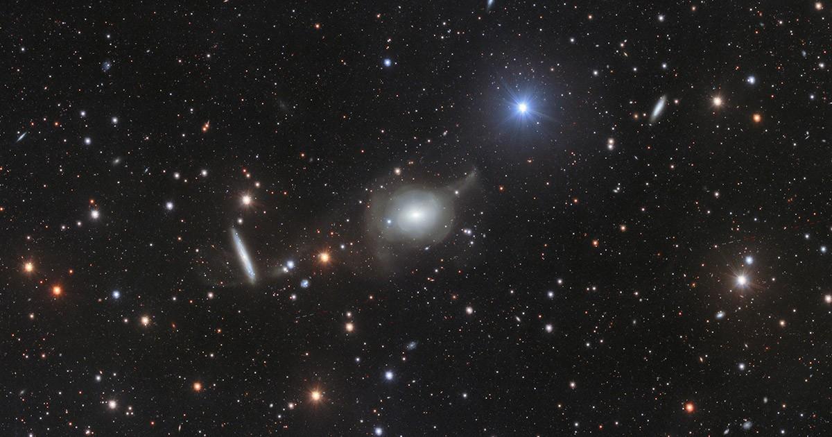 Elliptical Galaxy NGC 5018