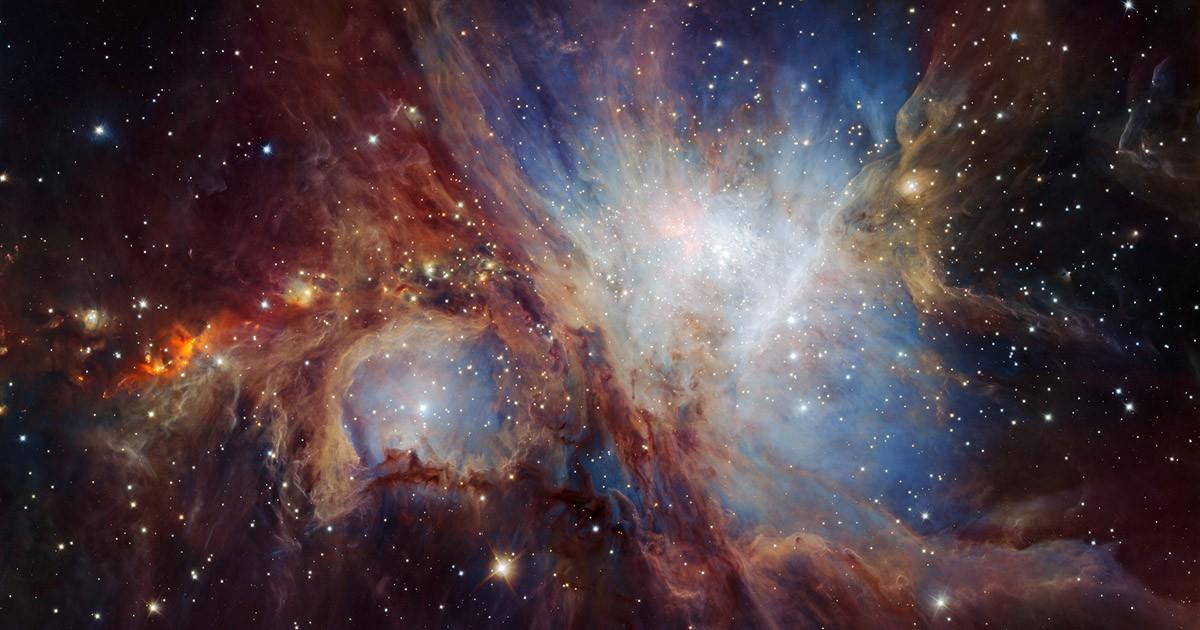 Orion Nebula from the VLT
