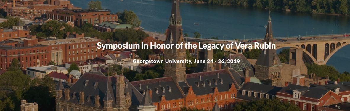 Symposium in Honor of Vera Rubin