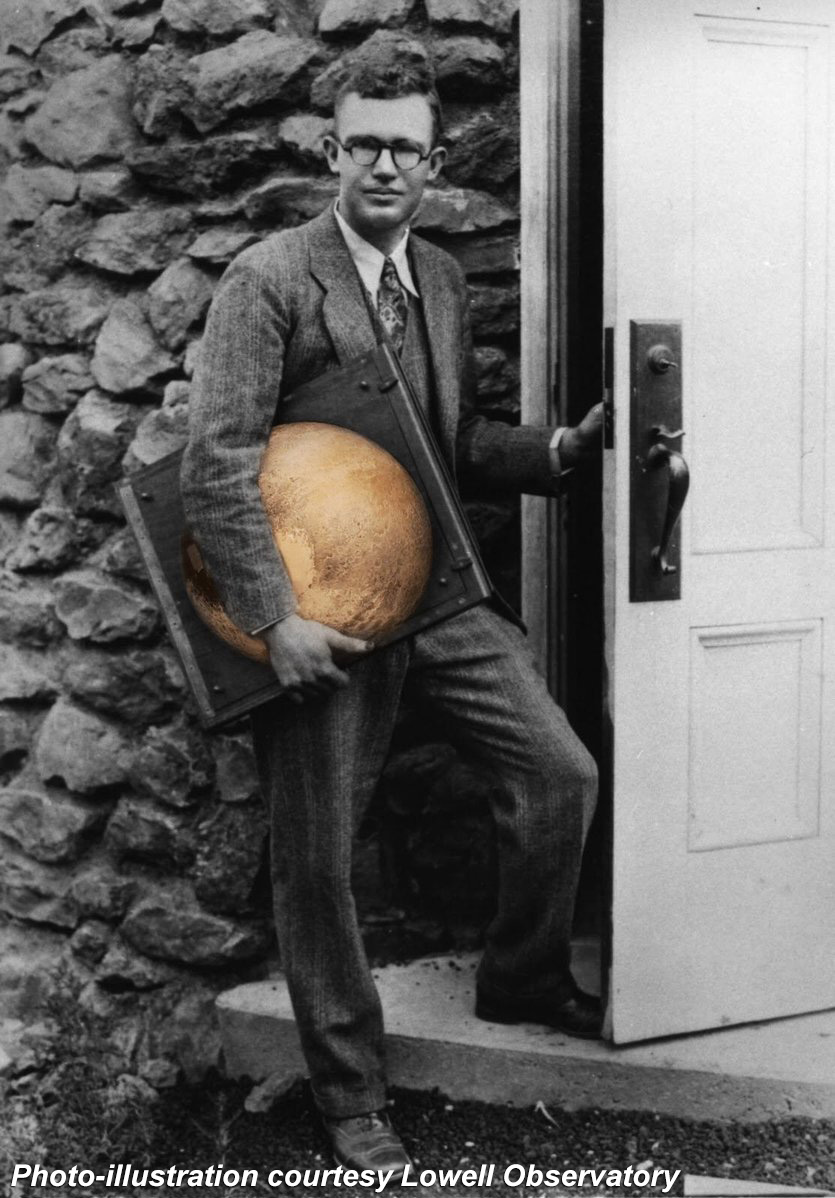 Clyde Tombaugh at Lowell Observatory