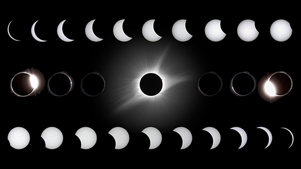 21 August 2017 Solar Eclipse by Rick Fienberg
