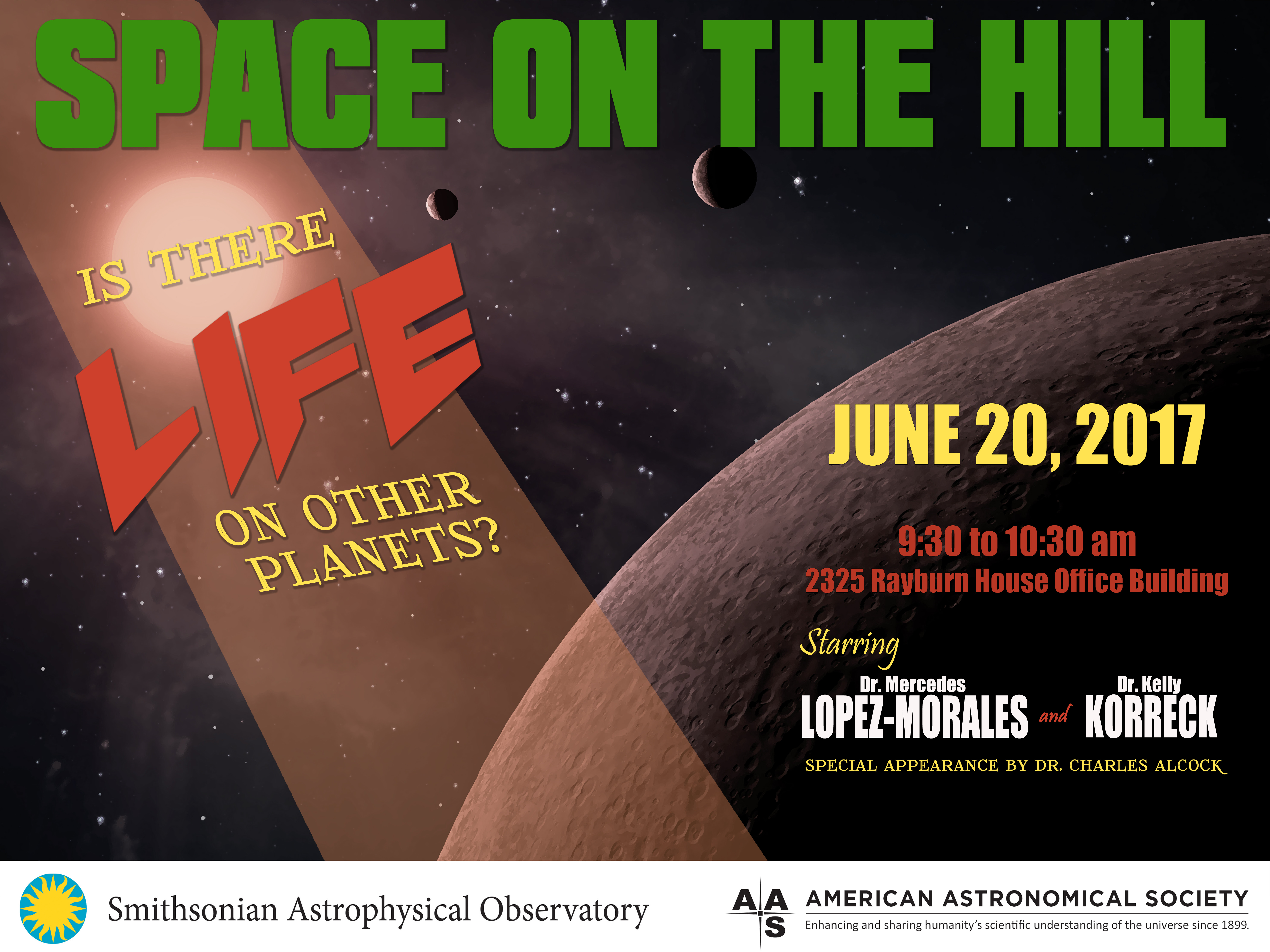 Space on the Hill RSVP