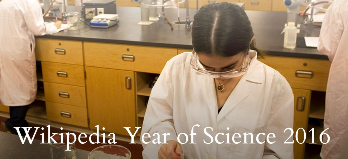 Wikipedia Year of Science 2016