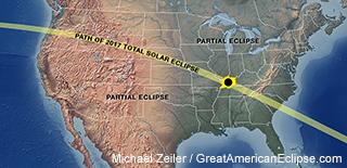 Solar Eclipse 2017 Map